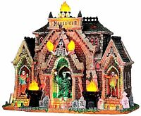 Lemax 35491 ALL HALLOWS MAUSOLEUM Spooky Town Lighted Building Halloween Decor I