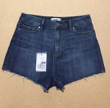 NEW PAIGE Margot Short Checker in Domino Color, size 29, Org$169