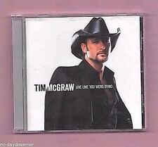 """TIM McGRAW -  Live Like You Were Dying (Curb 2004) """"Old Town New"""",""""We Carry On"""""""