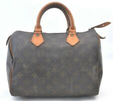 Authentic Louis Vuitton Monogram Speedy 25 Hand Bag Old Model LV 99497