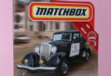 Matchbox POLICE PLYMOUTH Hudson DODGE Chevy FORD Dodge Buick BMW Subaru