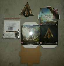PS4 XBOX 360 ASSASSINS CREED ODYSSEY 6 Cubes 10 Wobblers Sealed promo display