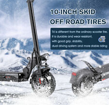 10 Zoll E-Scooter Scooter Elektroroller Roller mit Sitz Klapproller 1200W 45km/h