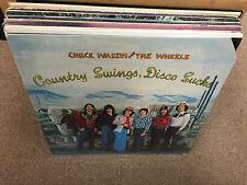 Chuck Wagon & the Wheels Country Swings Disco Sucks vinyl LP 1979 SEALED
