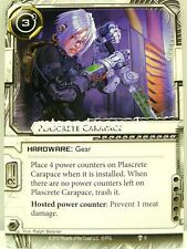 Android Netrunner LCG - 1x #009 Plascrete Carapace - What Lies Ahead