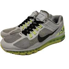 Men's Nike Air Max 2013 US 12 Wolf Grey Volt Shoes 554886-007