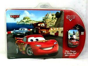 Disney Pixar CARS Computer MINI MOUSE AND PAD DSY-TP1001