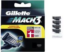 4 Gillette Mach3 Rasierklingen Neu & Original 8 12 16