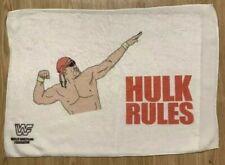 WWF Hulkamania Hulk Hogan Hulk Rules Towel 16in X 24in Microfiber Cloth