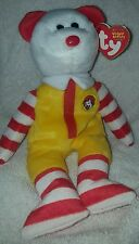 RONALD McDONALD the Bear TY BEANIE BABY full size MINT with MINT TAGS 2004 Rare