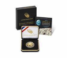2019 W Apollo 11 50th Anniversary $5 Gold Commemorative Proof Coin OGP SKU56544