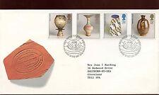 Gb fdc 1987 studio pottery bureau h/s #C25281