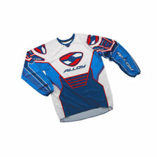 Maillots de cross bleus Alloy