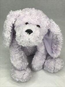 Animal Alley Purple Dog Plush Floppy Ears Pink Collar Toys R Us 2000 Lavender