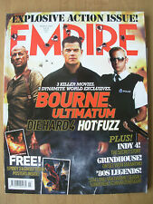 EMPIRE FILM MAGAZINE No 213 MARCH 2007 WITH FREE SPIDER-MAN & GHOST RIDER POSTER