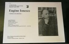 Television Carpeta De Prensa Un Siglo De Escritores Eugene Ionesco 2000