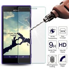 CLEAR 9H Hardness LCD Tempered Glass Screen Protector Cover for Sony Xperia M2