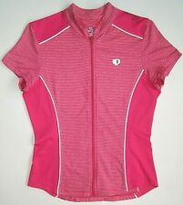 Jersey Pearl Izumi Select Reflective Pink Cycling Bicycling Women's Size S