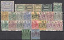 D3026/ BRITISH SOLOMON ISL – 1907 / 1914 MINT MH SEMI MODERN LOT – CV 175 $