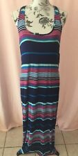 La Blanca Racer Back Maxi Dress Size Medium