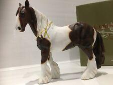 More details for skewbald gypsy cob horse gift figurine ornament figure