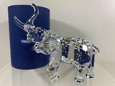 Swarovski Crystal Figurine Mother Elephant 7610 000 081 / 678945 MIB W/COA