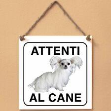 Mi-Ki 3 Attenti al cane Targa cane cartello ceramic tiles