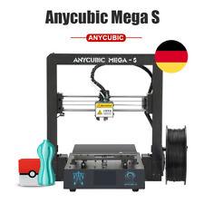 DE ANYCUBIC i3 Mega-S 3D Drucker Größerer Druckgröße 210*210*205mm Resume Druck