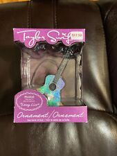 New Taylor Swift Silver Guitar Musical Ornament Plays Part Long Live Great Gift