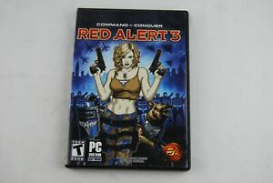 Command and Conquer: Red Alert 3 DVD-ROM for Windows PC Complete with Poster