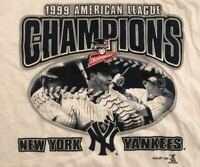1999 American League Champions New York Yankees Vintage t shirt Size XL