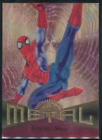 1995 Marvel Metal Trading Card #78 Spider-Man