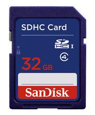 SanDisk 32 GB, Class 4 - SDHC Card - SDSDB-032G-B35
