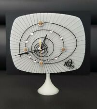 horloge /pendule spéciale diamant strass vintage design mire television ORTF 59