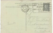 France Olympische Spiele Olympic Games 1924 Olympic cancel Paris Place Chopin