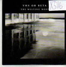 (CQ192) VHS Or Beta, The Melting Moon - 2004 DJ CD