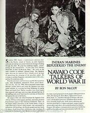 Navajo Code Talkers Of The U.S. Marines + PFC Goodluck*,Gorman,PFC Kirk*,