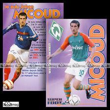 JOHAN MICOUD ( WERDER BREMEN) - Fiche Football SF / Fussball 2004