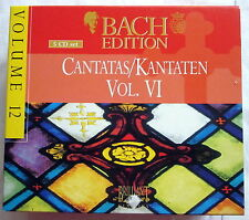 5 CD-Set - BACH EDITION 12 - Cantatas / Kantaten Vol. VI