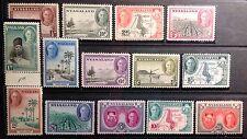 NYASALAND 1945  DEFINITIVE SET SG1444/157  UNMOUNTED MINT. CAT £85