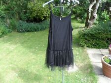 Gothic black net dress size 3X 22-24 choose inner peace and pleasure