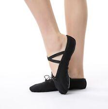 Toddler Girl & Adult  Ballet Dance Slipper Split-Sole Classic  #2  Canvas Shoes
