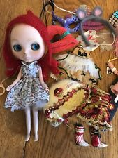 FRUIT PUNCH BLYTHE EBL-12 DOLL * With clothing lot *  with box * US SELLER *