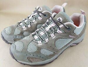 Merrell Womens Nova Ventilator Rucksack/Pale Lilac Hiking Shoes J098316 Sz 9