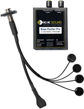 K&K Sound Bass Master Pro Upright Bass Dual Pickup System with Preamp/Mixer NEW!