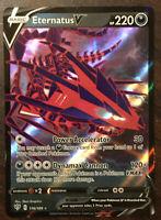 Eternatus V 116/189 Darkness Ablaze - Pokemon - Holo Ultra Rare - New