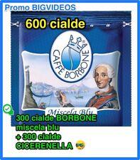 600 CIALDE CAFFE' 300 CIALDE CAFFE' BORBONE BLU + 300 CIALDE CAFFE' CICERENELLA