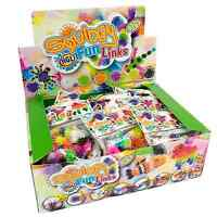 Squidgy Fun Links Construction Toy Thorn Ball Xmas Stocking Filler Party Present