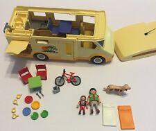 Playmobil Camper 3647 Motorhome RV Vacation Bus Accessories Bike