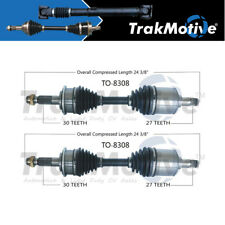Surtrack 2PCS FRONT LEFT/RIGHT Cv Axle Shaft For 1993-1996 Toyota Land Cruiser